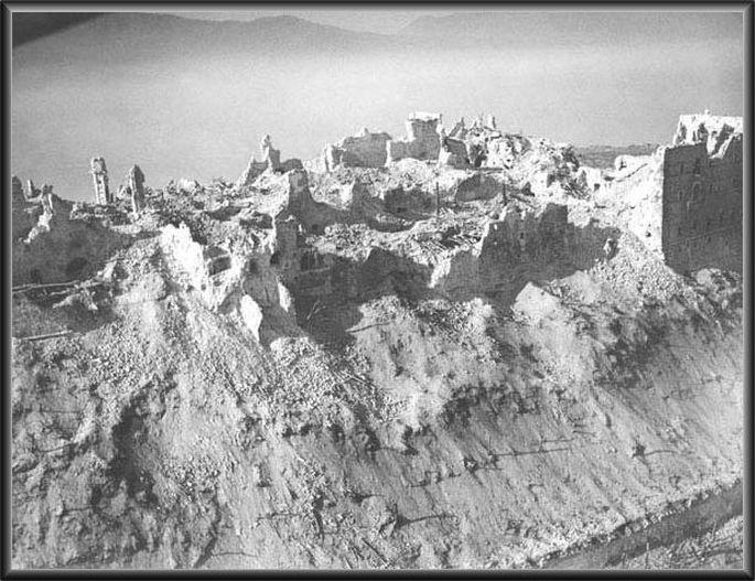 Die Ruinen des Klosters