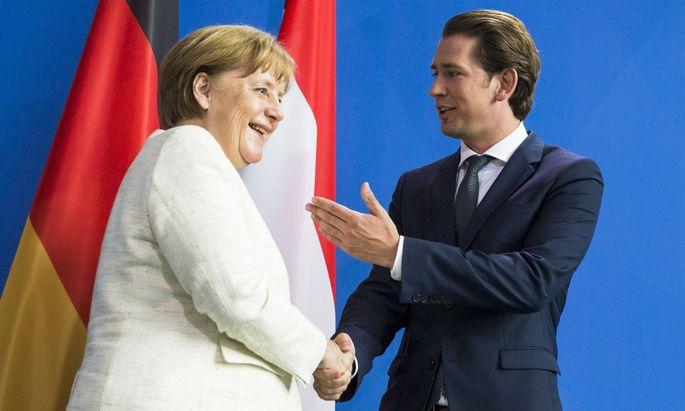 Bundeskanzler Sebastian Kurz gilt als Macher