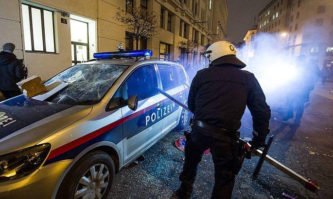 Häupl kritisiert Polizei:
