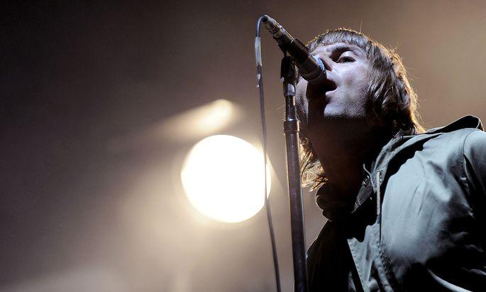 """Liam Gallagher war 2011 mit der Band """"Beady Eye"""" beim Frequency-Festival in St. Pölten."""