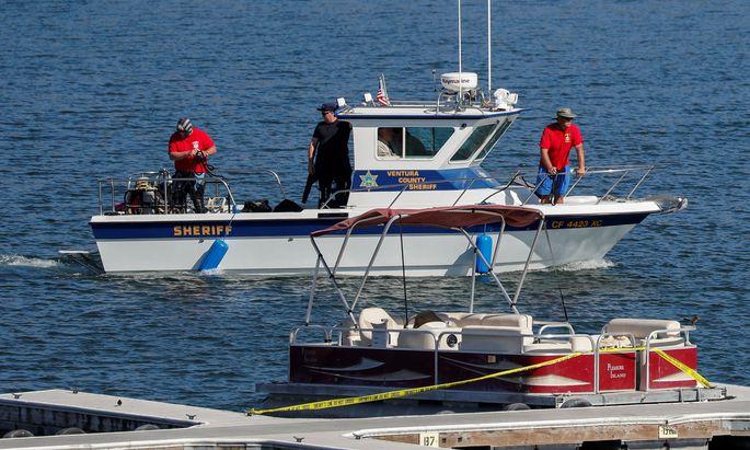 Am Montag wurde eine Leiche Lake Piru gefunden