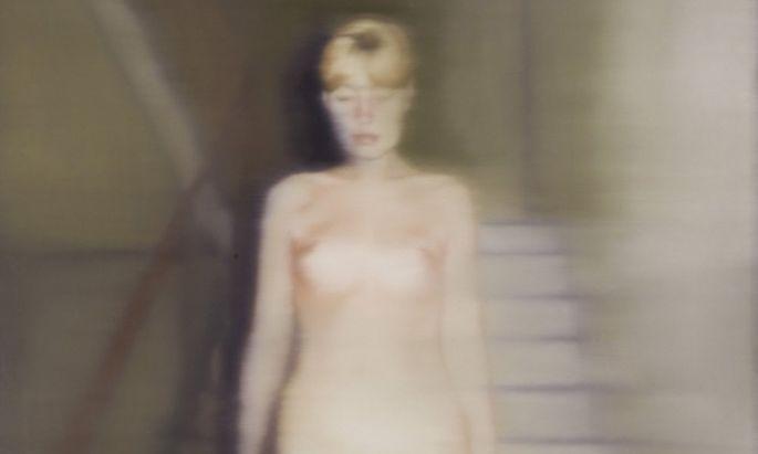 """Da geht """"Ema"""" (1966), Richters damalige Frau, in die Ewigkeit ein."""