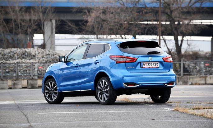 Preislich hart an der Premium-Grenze: Nissan Qashqai mit Diesel und Allrad.