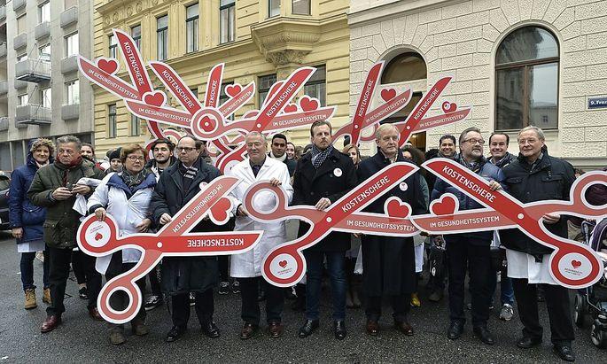Wiener Gebietskrankenkasse prüft Klage gegen Ärztekammer