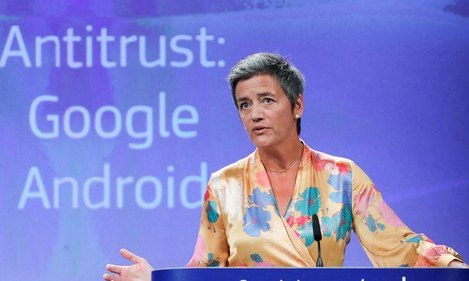 Wettbewerbskommissarin Margrethe Vestager.