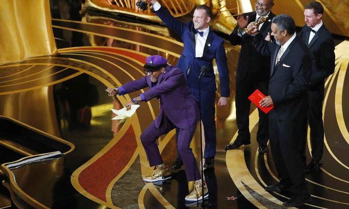 Der frischgebackene Oscarpreisträger Spike Lee in guter Laune.
