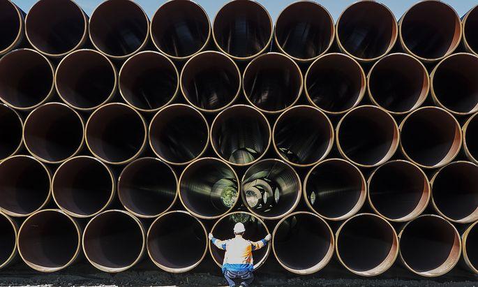 Im August soll die Nord Stream 2 fertiggestellt werden.