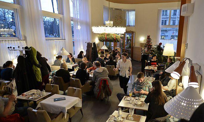 Archivbild: Das Wiener Café Prückel