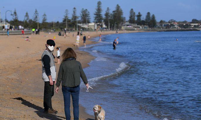Mehr Abstand in allen Lebenslagen sorgte auch in Australien für eine geringere Verbreitung des Influenza-Virus in der Wintersaison.