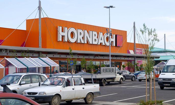 Hornbach in Rumänien/Kronstadt.