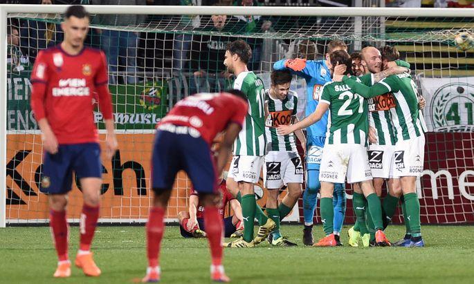 FUSSBALL TIPICO BUNDESLIGA / GRUNDDURCHGANG: SV MATTERSBURG UND SK RAPID WIEN
