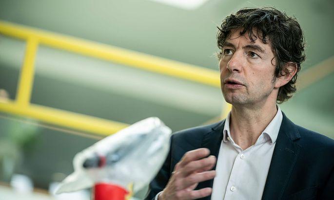 Christian Drosten, Direktor des Instituts für Virologie an der Charité an Berlin