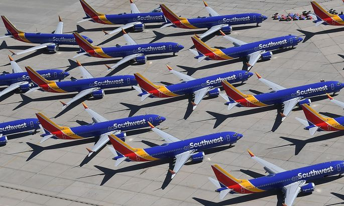 Die 737-Max-Maschinen müssen auf dem Boden bleiben, nicht nur die von Southwest