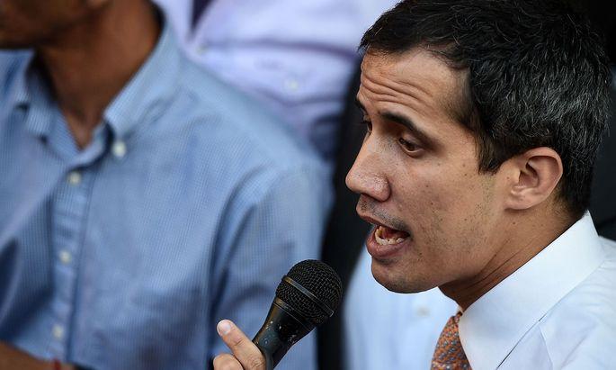 Venezuelas Oppositionsführer Juan Guaidó