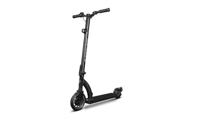 Edelroller: Der von Micro für BMW gefertigte E-Scooter.
