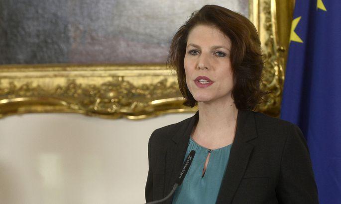 Staatssekretärin Karoline Edtstadler leitete die Taskforce zur Strafrechtsreform.