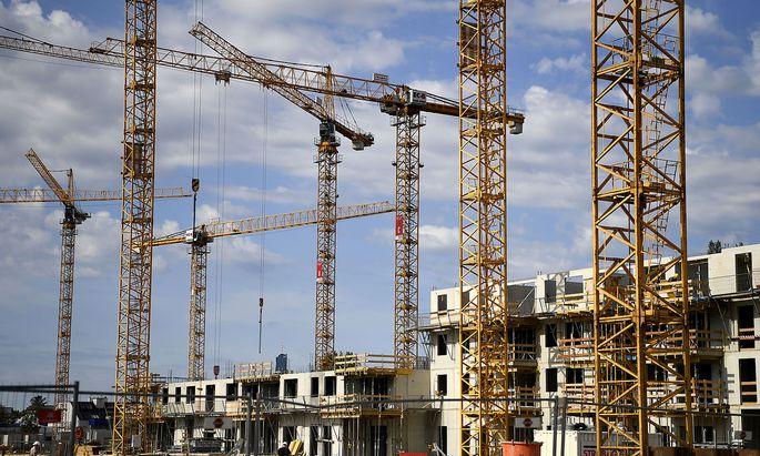 Der Rohstoffmangel führt zu Verzögerungen auf den Baustellen