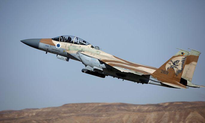 Ein Archivbild eines israelischen F-15-Jets.