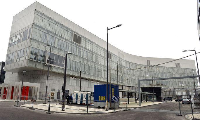 Beim Spital Nord droht die nächste Kostenexplosion. Eine Aufnahme der Baustelle aus dem vergangenen Dezember.