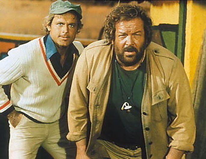 Die Filme von Terence Hill und Bud Spencer wurden in Schnodderdeutsch synchronisiert