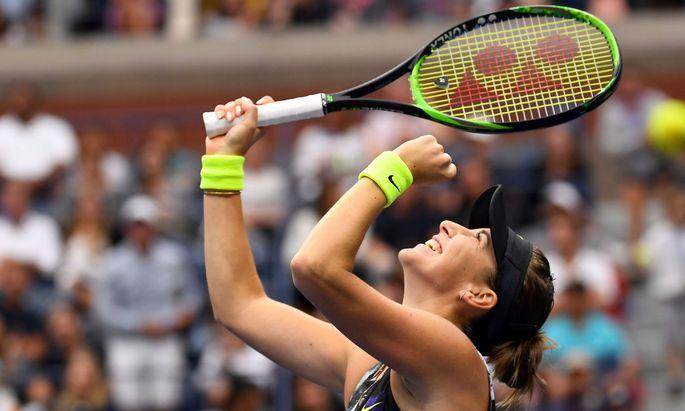 Belinda Bencic steht bei den US-Open im Achtelfinale