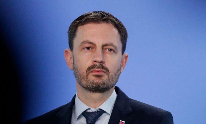 Ministerpräsident Eduard Heger besucht Wien