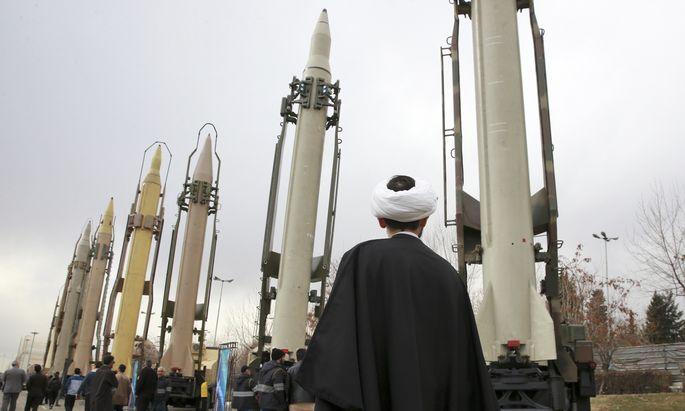 Das Regime in Teheran zeigt gern die Muskeln: Militärshow zum 40. Revolutionsjahrestag im Februar 2019.