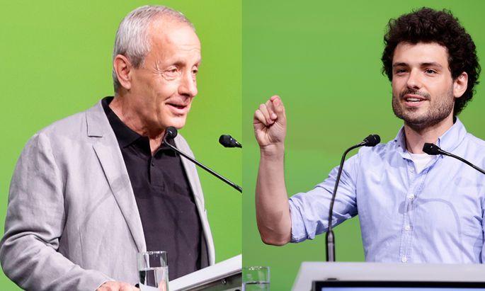 Peter Pilz und Julian Schmid