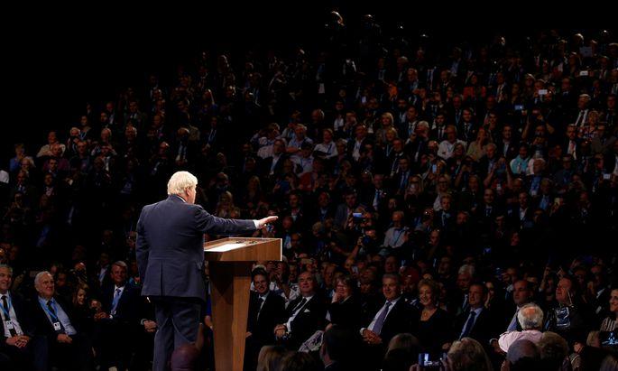 Johnson gab in seiner Rede nur wenige Details des neuen Vorschlags an die EU-Partner preis.