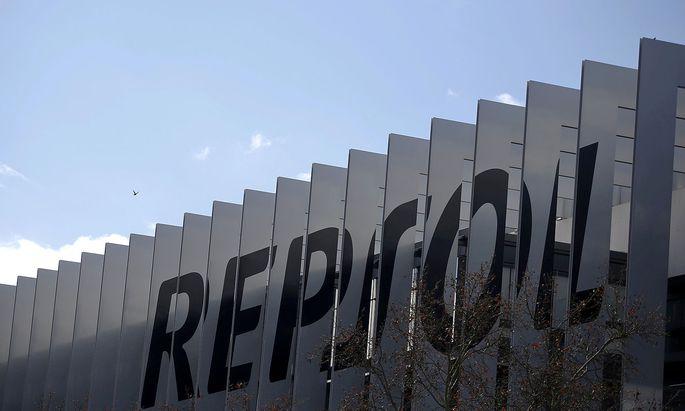 headquarters of Spanish oil major Repsol in Madrid