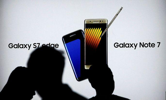 Statt dem Galaxy Note 7 gibt es für Kunden das S7 Edge, wenn sie es wollen.