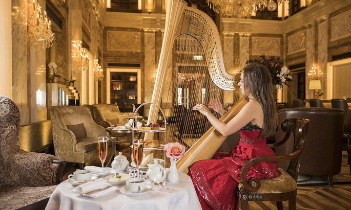 Lobby Lounge des Hotel Imperial