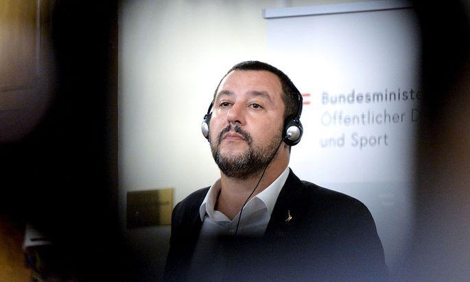 Archivbild: Salvini Mitte September in Wien