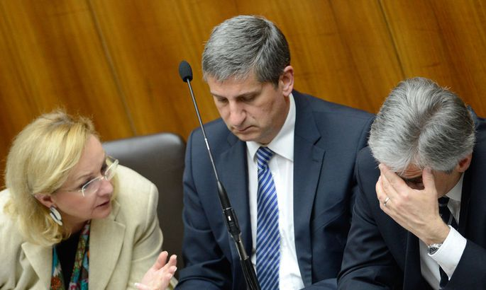NATIONALRAT: FEKTER/SPINDELEGGER/FAYMANN