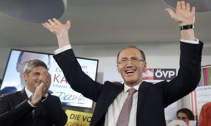 EU-WAHL 2014: ÖVP verteidigt Platz eins, FPÖ und Grüne legen zu