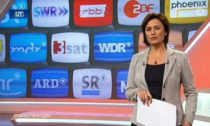 Auch bei Sandra Maischberger in der ARD wurde Mittwochabend über den öffentlich-rechtlichen Rundfunk diskutiert. Der ORF und Österreich waren dabei Thema.