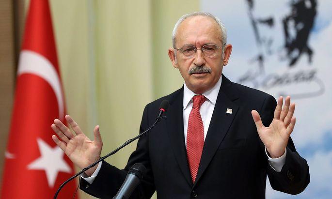 Kemal Kilicdaroglu ist Parteichef der kemalistischen, sozialdemokratischen CHP. Die Popularität seines Parteikollegen Muharrem Ince ist derzeit groß.