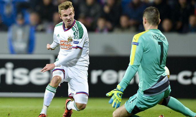 UEFA EUROPA LEAGUE: FC VIKTORIA PILSEN - SK RAPID WIEN