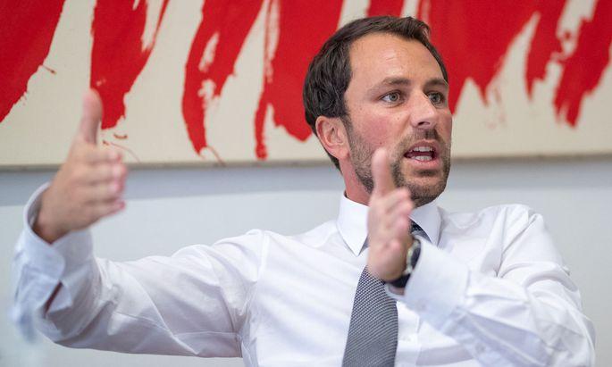 Tirols SPÖ-Chef Georg Dornauer
