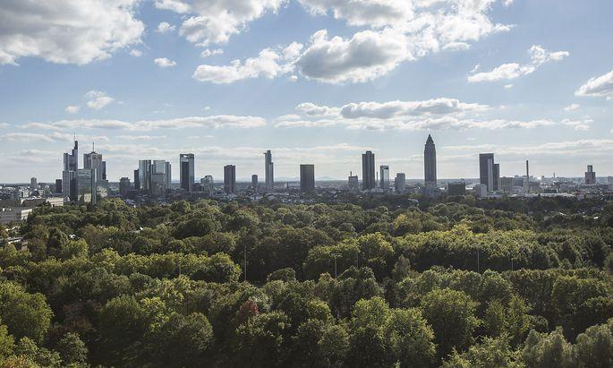 Frankfurts Bankenskyline
