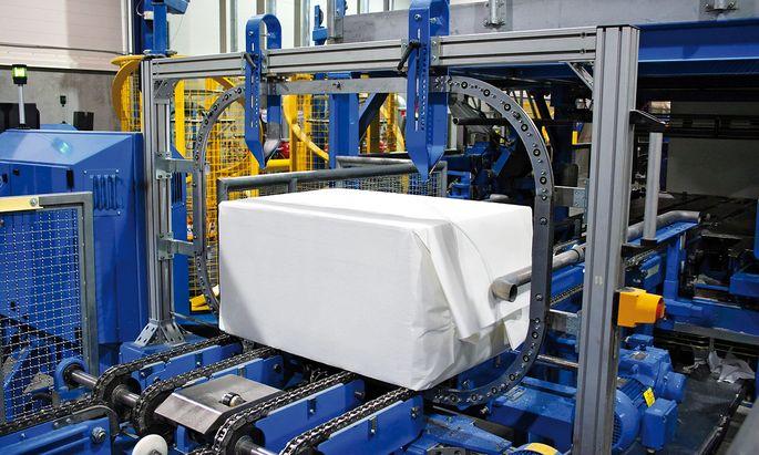 Verpackungsmaschine der Heinzel Group: Monomaterialien im Kommen.