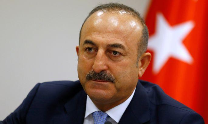 Der türkische Außenminister Mevlüt Çavuşoğlu.