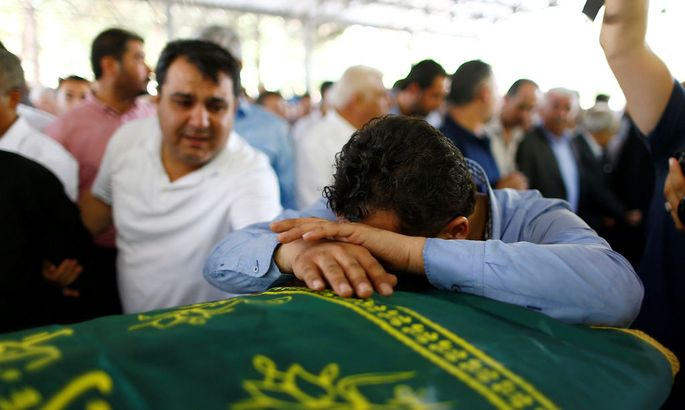 Trauer in Gaziantep