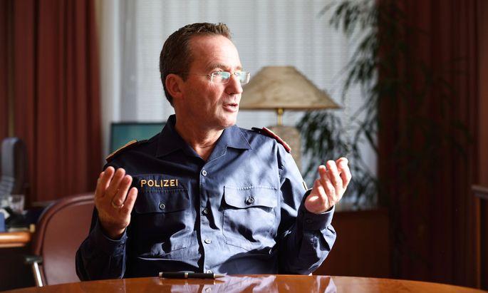 Gerhard Pürstl, Wiener Polizeipräsident