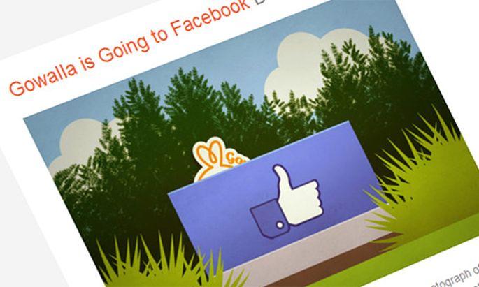 Facebook dreht FoursquareRivalen Gowalla