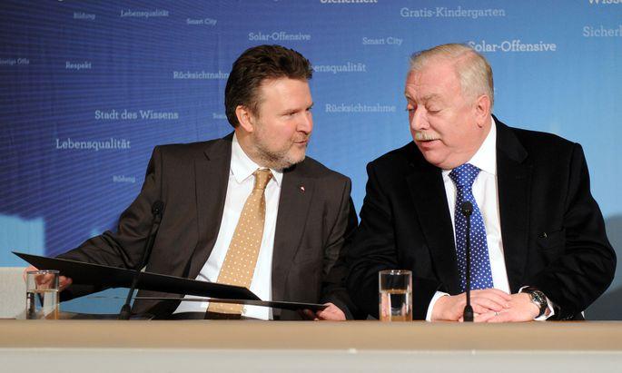 Michael Ludwig und Michael Häupl