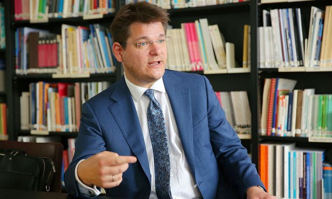 Oliver Vitouch ist Rektor der Universität Klagenfurt.