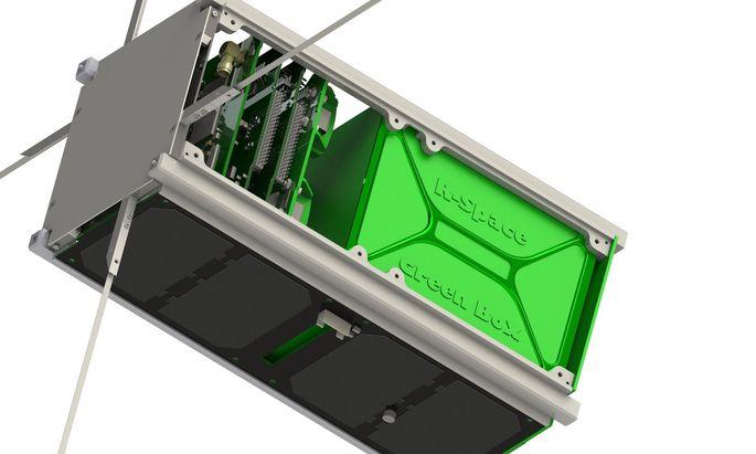 """Für den Satelliten von """"R-Space"""" braucht es kein Satelliten-Fachwissen, um neue Technologien an Bord zu testen, heißt es."""