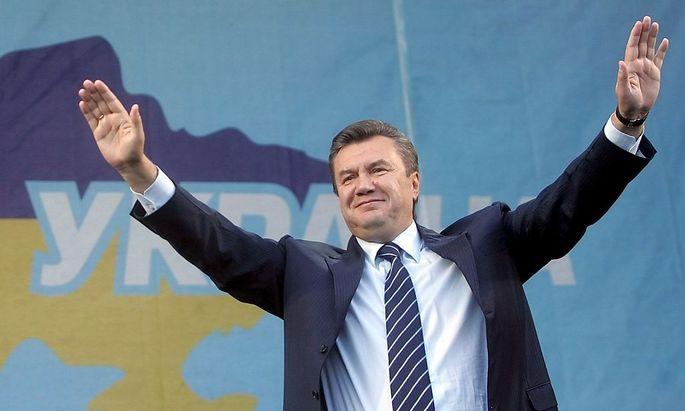 Der ehemalige ukrainische Präsident Janukowitsch.
