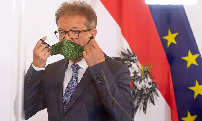 Gesundheitsminister Rudolf Anschober übernimmt die Verantwortung für den missglückten Erlass.